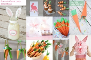 Bunny & Carrot crafts