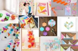 geometric wedding