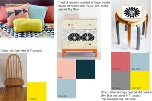 Painted Furniture, Prima