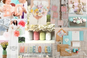 pastel winter wedding, You & Your Wedding